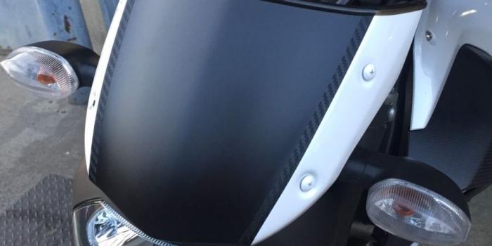 Yamaha MT-07 スクリーン セラコート