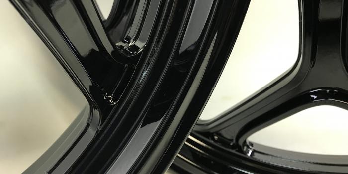 BMW ホイールパウダー コーティング(全艶ブラック)