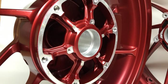 ホンダ | HONDA CB1300スーパーボルドール ホイール パウダーコーティング(粉体塗装)