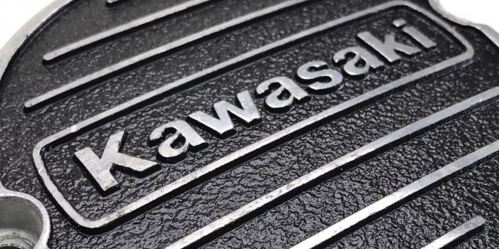 Kawasaki-カワサキ-ポイントカバー セラコート施工