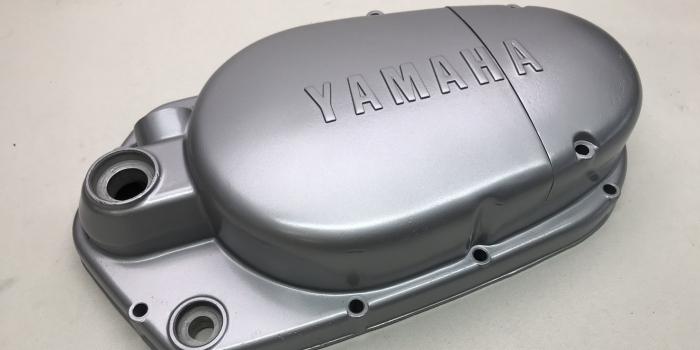 ヤマハ DT-1  クランクケースカバー 焼付塗装