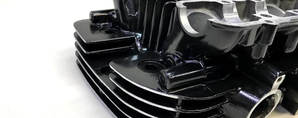 エンジン塗装